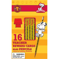 Peanuts Snoopy Way To Go Pencils W- Toppers