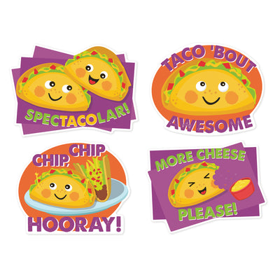 Taco Stickers Jumbo Scented