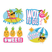 Pineapple Stickers Jumbo Scented
