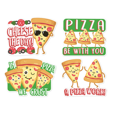 Pizza Stickers Jumbo Scented