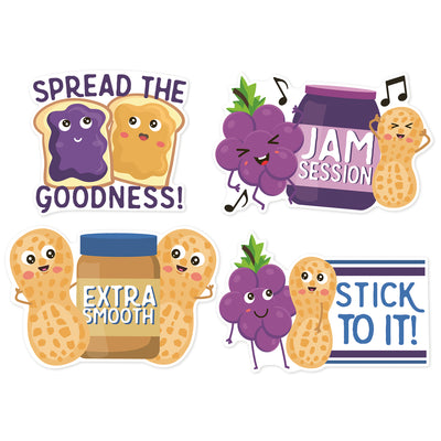 Peanut Butter & Jelly Stickers Scented