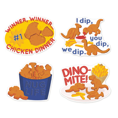 Chicken Nuggets Stickers Scented