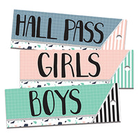 (6 Ea) Simply Sassy Hall Passes