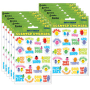 (12 Pk) Jelly Beans Scented Stickers