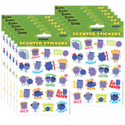 (12 Pk) Grape Stickers Scented