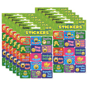 (12 Pk) Emoticons Success Stickers