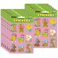 (12 Pk) Easter Giant Stickers