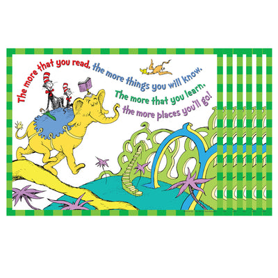 (6 Ea) Dr Seuss The More You Read 17 X 22  Posters