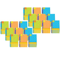 (6 Pk) Books Assorted Paper Cut Out Color My World