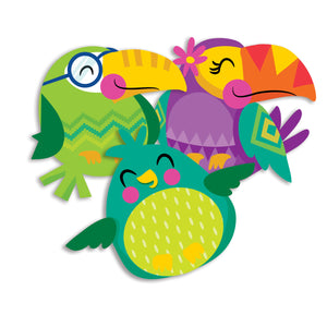 You Can Toucan Bird Paper Cutouts Assorted