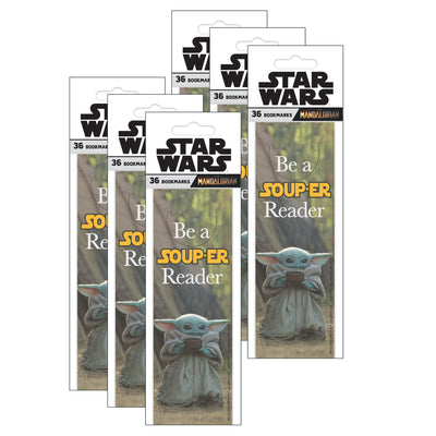 (6 Pk) The Mandalorian Be A Souper Bookmrk - Student Spotlight