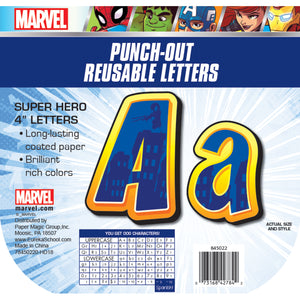 (3 Ea) Marvel Super Hero Adventure Decor Letters