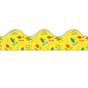 (6 Pk) Dr Seuss One Fish Two Fish Trimmer