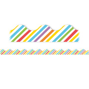 Rainbow Stripes Deco Trim