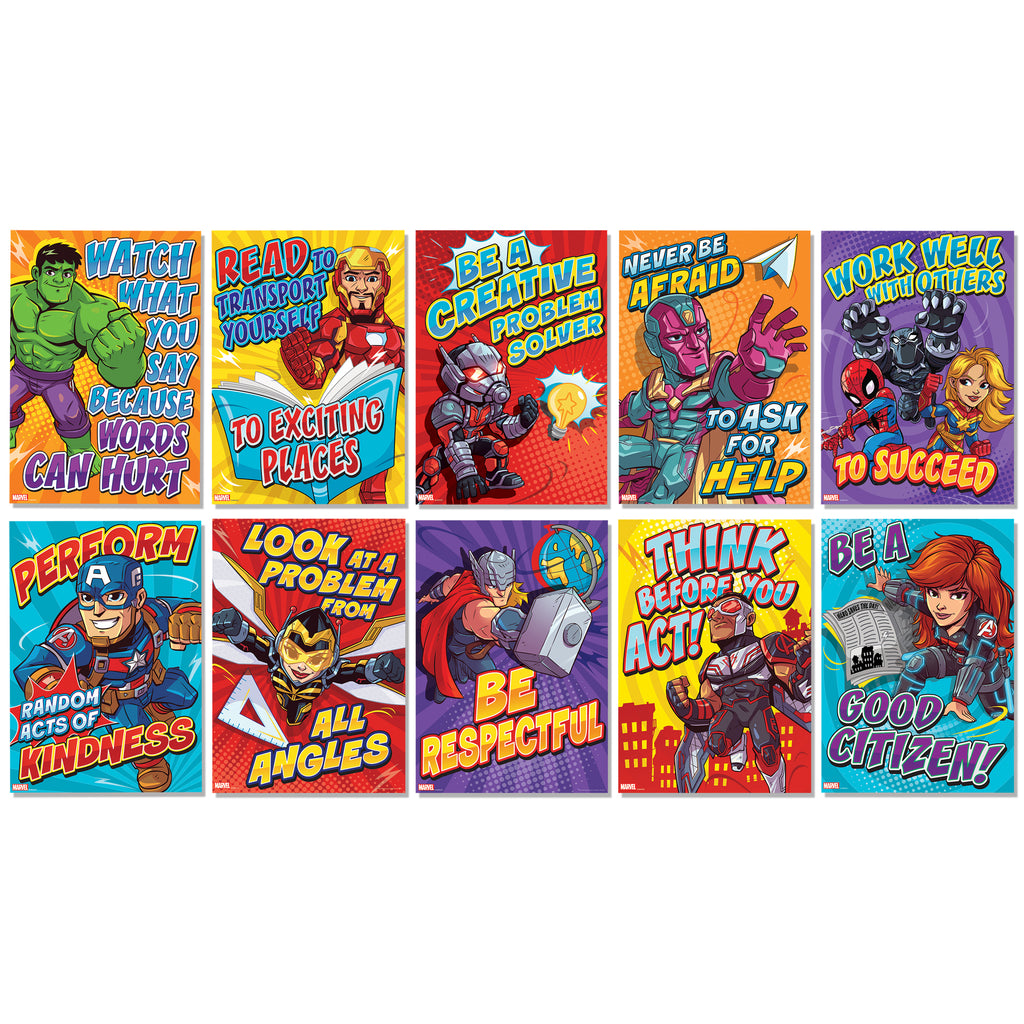Marvel Mini Motivational Poster Set