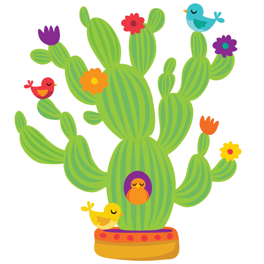 A SHARP BUNCH GIANT CACTUS BB SET