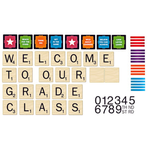 SCRABBLE WELCOME TO OUR CLASS MINI