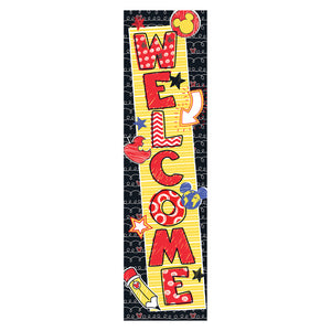 Mickey Color Pop Welcome Banner