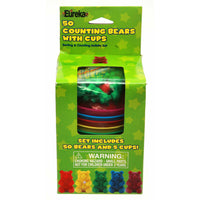 Counting Bear Cups 50 Ct Bears 5 Cups