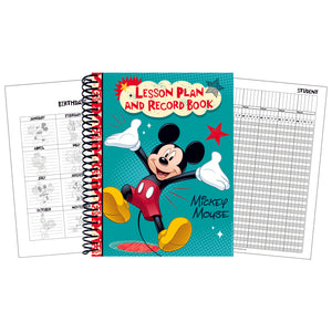 MICKEY LESSON PLAN & RECORD BOOK