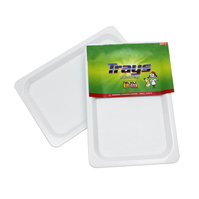 Plastic Trays Set Of 4