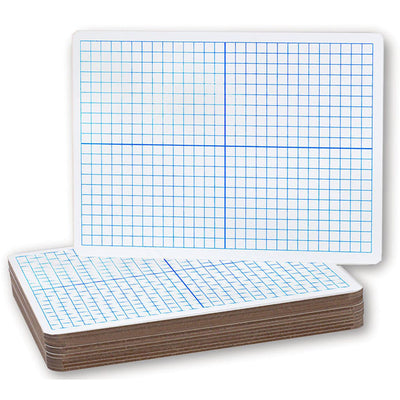 X Y Axis Dry Erase Boards 12-pack