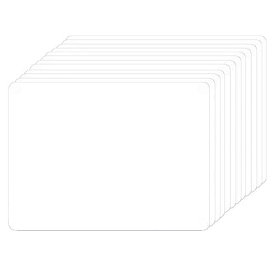 (12 Ea) Dry Erase Boards 5 X 7 2 Sided