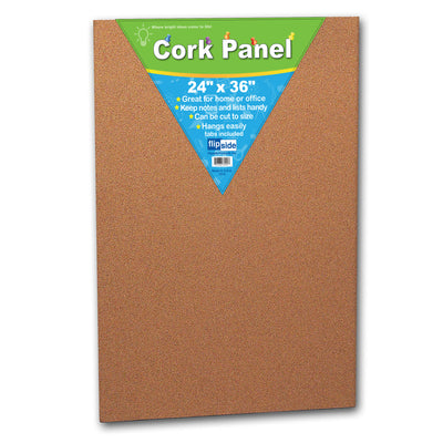 (2 Ea) Cork Panel 24x36in