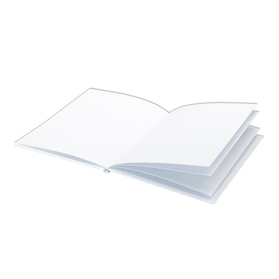 Hardcover Blank Book Portrait 24pk 6x8
