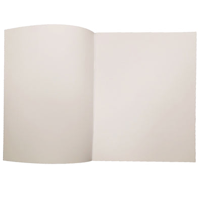 Blank 8.5x11 Book 12 Pack Softcover Portrait 14 Sheets