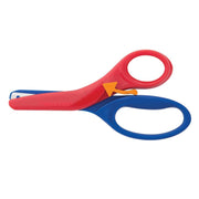 (6 Ea) Preschool Spring Action Scissors Ages 3&up Asst Colors