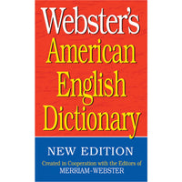 (6 Ea) Websters American English Dictionary