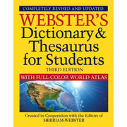 Dictionary & Thesaurus W- Atlas Websters 3rd Edition