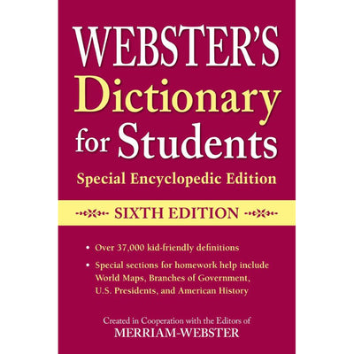 Dictionary For Students Special Encyclopedic 6th Edition