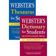 Websters Dictionary-thesaurus Set For Students - Student Spotlight