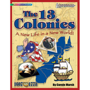 (3 Ea) American Milestones The 13 Colonies