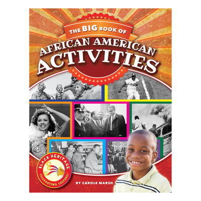 (2 Ea) Black Heritage Celebrating Culture Big Book Of Activities