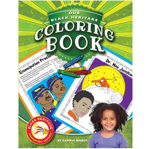 Black Heritage Celebrating Culture Black Heritage Coloring Book