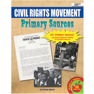 (2 Pk) Primary Sources Civil Rights Movement