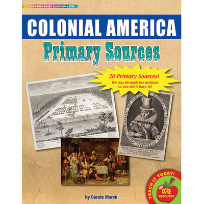 (2 Pk) Primary Sources Colonial America