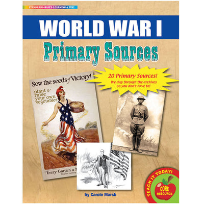 (2 Pk) Primary Sources World War I