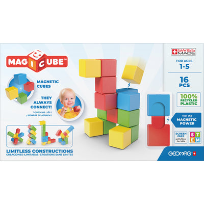 Magicubes Fullcolor Try Me 16 Pcs Recycled