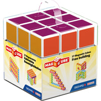 Magicube - 27 Piece Multicolored Free Building Set