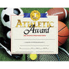 (3 Pk) Certificates Athletic Award 8.5x11 30 Per Pk