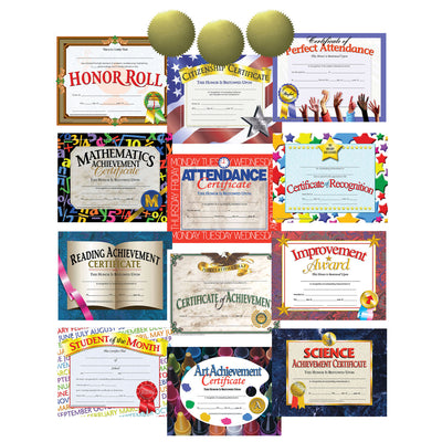 Hayes Certificate-seal Assortment