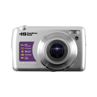 8x Optical Zoom Lens Digital Camera 18 Mp