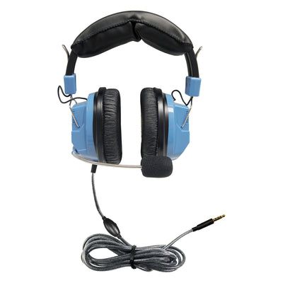 Deluxe Headset With Mic And Volume Trrs Plug