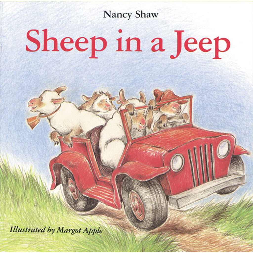 Sheep In A Jeep Classic Lit Book