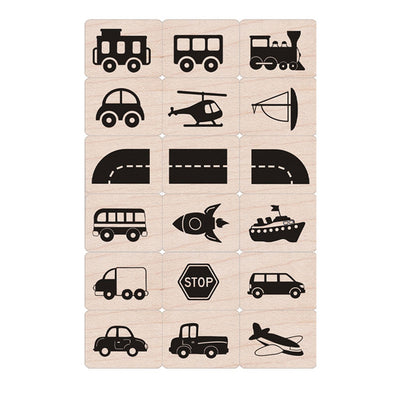 Toy Vehicles Ink N Stamp