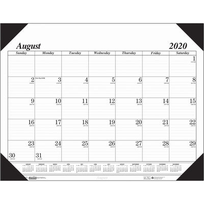 Academic Desk Pad 17 Months Aug-dec Economy
